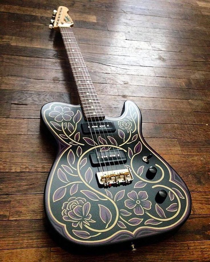 Acoustic And Electric Designs: 1000+ Ideas About Guitar Design On Pinterest