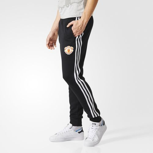 adidas Manchester United Superstar Track Pants - Black | adidas US