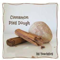 Play Dough Recipe-Cinnamon FREE resource