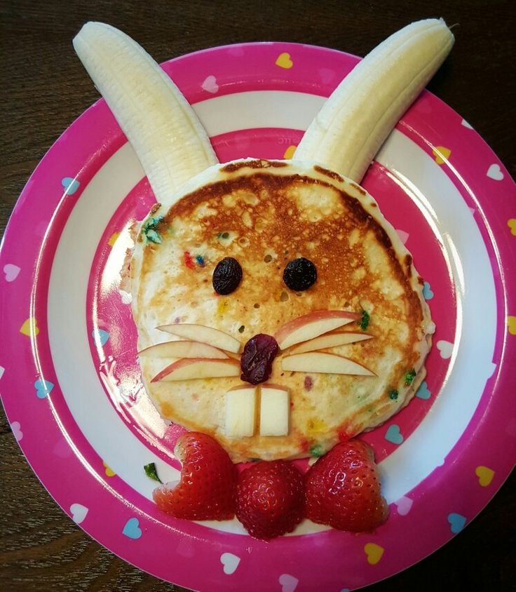 Seriously, Some Bunny Loves You! Confetti Sprinkle Buttermilk Pancakes for a Hoppy Easter Breakfast