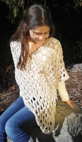 Crochet Shawl/shoulder wrap for teens and women