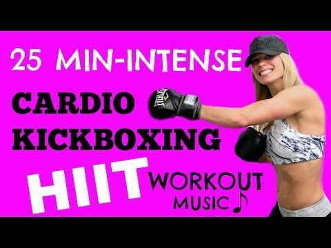 HIIT Cardio Kickboxing Abs Workout Video, Kickboxing HIIT FItness Workout Videos - YouTube