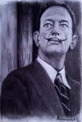 Filani Art: Drawing of Salvador Dali