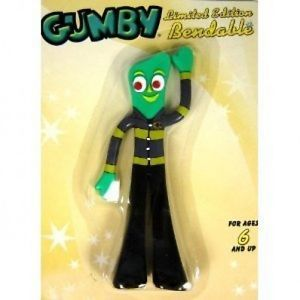 Fireman-Gumby-5-Bendy-Figure-New-in-Package