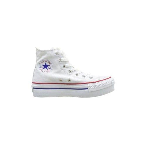 Converse Platform Chaussures de Sport Toile Blanc 540170C blanc - Chaussures Basket montante Femme 92,90 €
