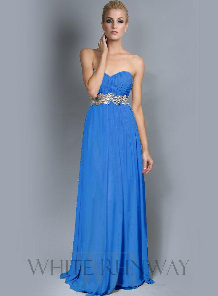 Grecian Strapless Bridesmaids Dress $325