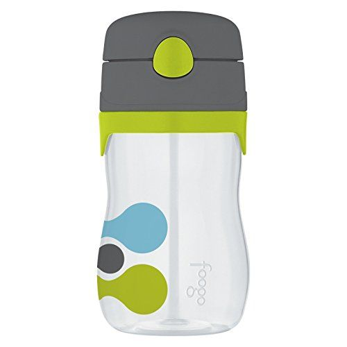 Thermos Foogo Tripoli Eastman Tritan 11 Ounce Water Bottle With Straw Set Of 2 Find Out More About The Great Product Straw Bottle Thermos Bottle Baby Bottles