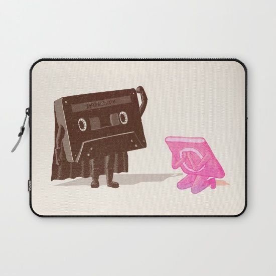 I'm your father... Laptop Sleeve by Robert Farkas