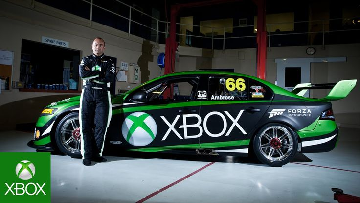 Marcos Ambrose and Xbox Return to V8 Supercars Super