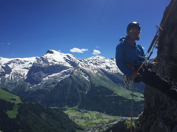HH Ambassador @  linusarchibald really knows how to enjoy the mountains.  The views in Switzerland are unreal.