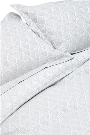 Buy Secret Linen Store Teasels Dove Grey Duvet Cover from the Next UK online shop