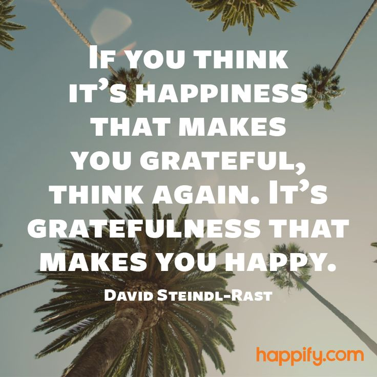 The True Relationship Between Gratitude and Happiness - David Steindl-Rast