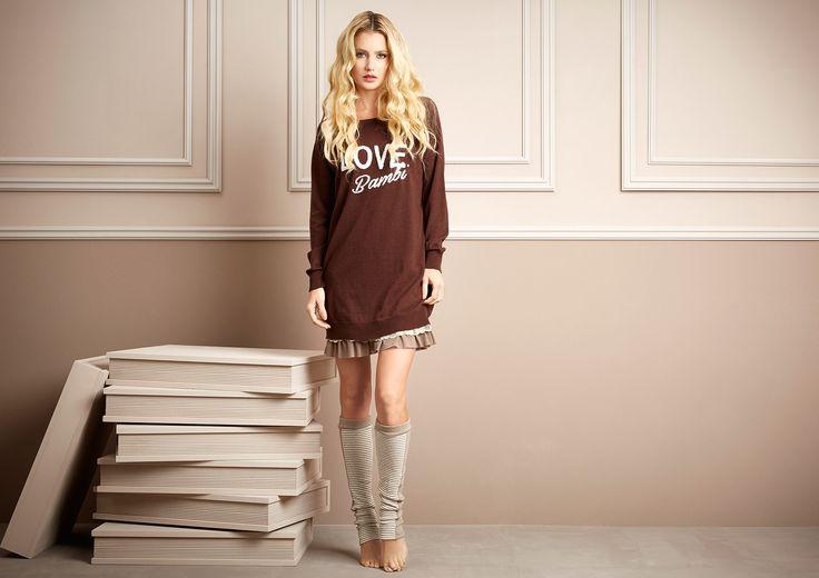 Pepita - Home & Sleepwear FW 2016/17 Shop by look: Abito in maglia con ricamo https://shop.pepitastyle.com/it/fall-winter-2016-17/436-abito-in-maglia-con-ricamo-cornely.html