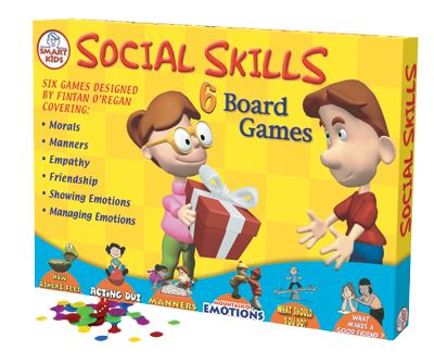 Social Skills Board Game This set of six unique board games improves children's social skills and reinforces positive character traits