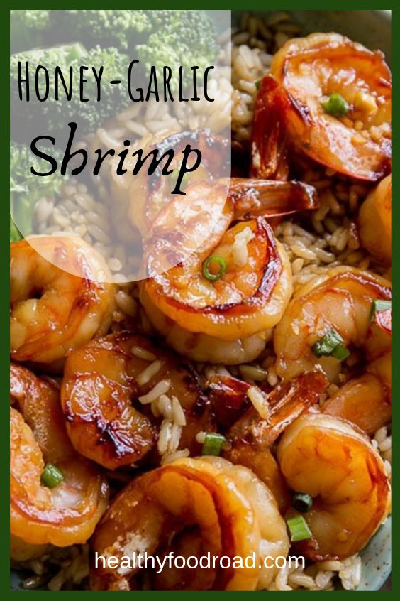 Honig-Knoblauch-Garnelen   – Dinner foods