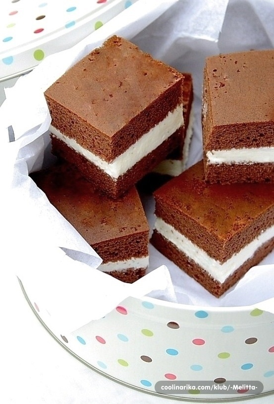 milch schnitte <3 ...again something yummie from home sweet home germany