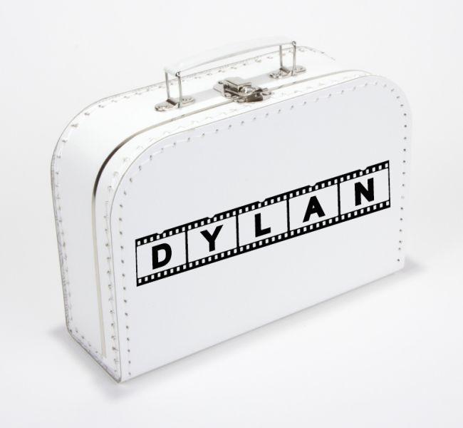 Gepersonaliseerd koffertje met naam - kinderkoffertje