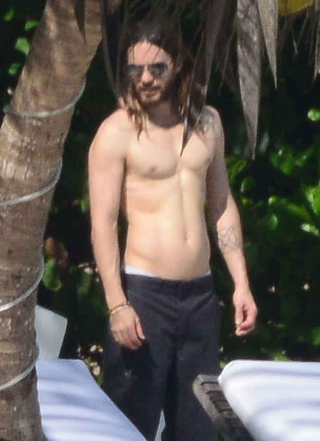 And walk around without a cane. | Jared Leto Defies All Aging Logic As The Sexiest 42-Year-Old Man On Earth