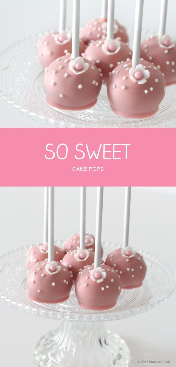 SO SWEET - Cake Pops