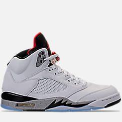 Men's Air Jordan 5 Retro Basketball Shoes Product Image
