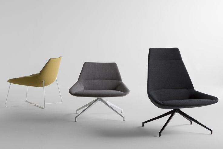 Designed by Christophe Pillet, the DUNAS collection is made up of spacious comfortable seating, available in two backrest heights which can be combined with either swivel or fixed bases. Its enveloping contours along with a design of sophisticated, stylish and sleek lines find their place in cozy, contemporary spaces where one can comfortably wait, converse or simply relax.