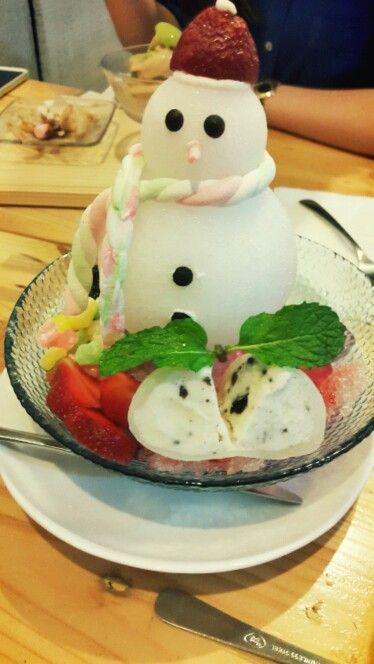 Snowman icecream - Shirokuma, PIK, Jakarta,Indonesia