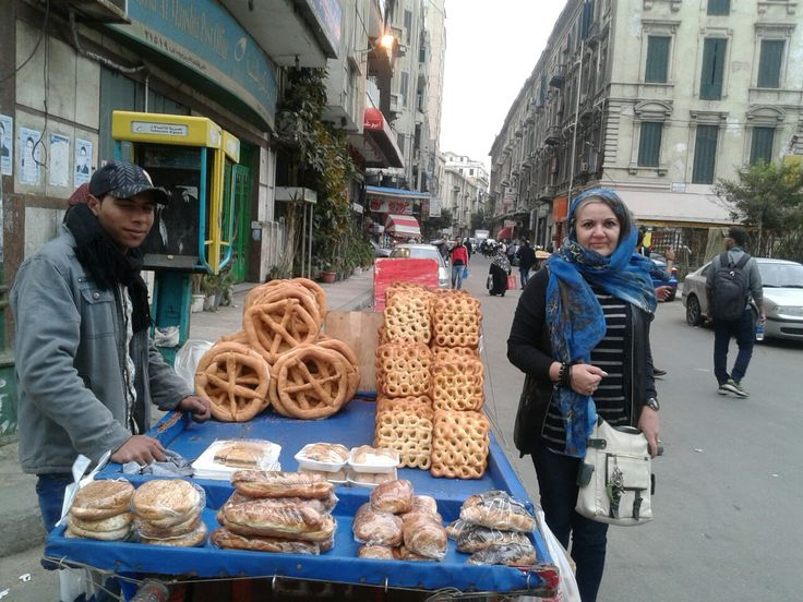 Big pretzels Alexandria Egypt