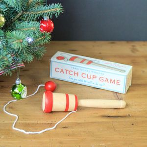 Traditional Wooden 'Catch Cup' Stocking Filler