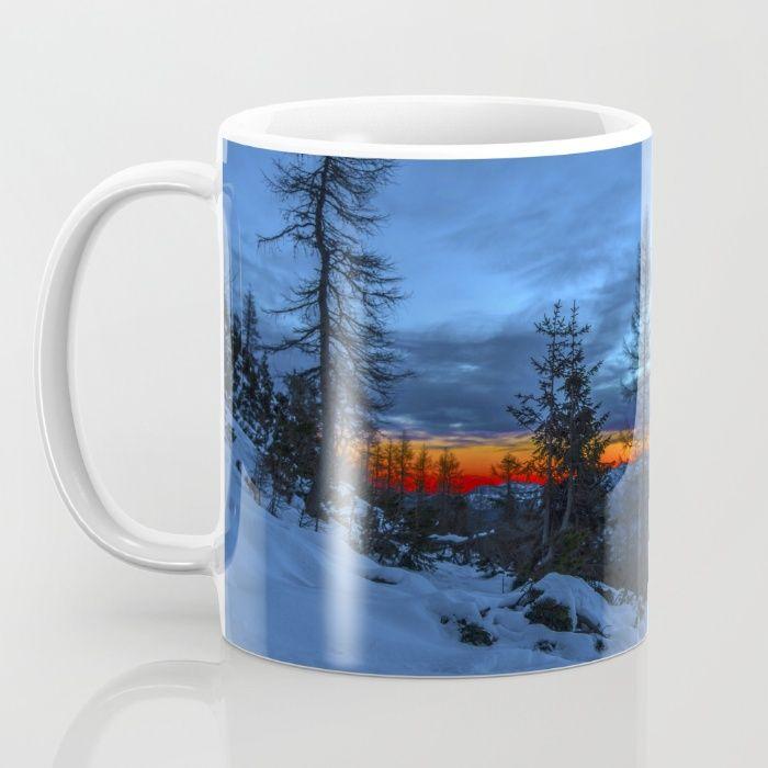 Warm Streak 1 Mug by Mixed Imagery | Society6