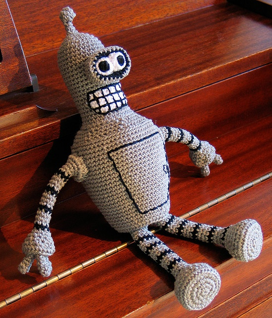 Ravelry: Bender Bending Rodriguez pattern by Soph Stitch