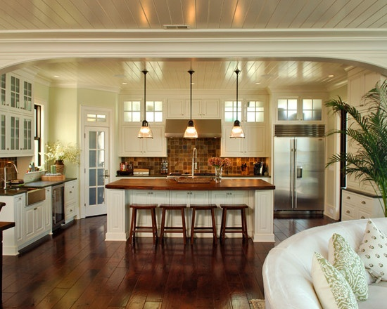 131 best images about yummy kitchens dining rooms on pinterest islands gray cabinets and - Tropical kitchen design ...