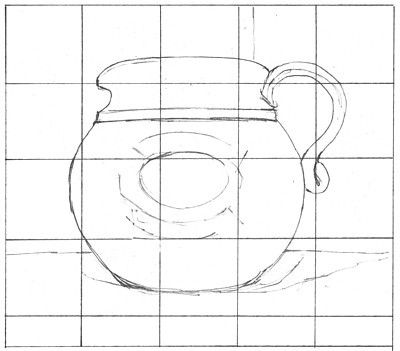 How Grid Drawing Can Help You Copy Images Accurately: The Finished Grid Drawing