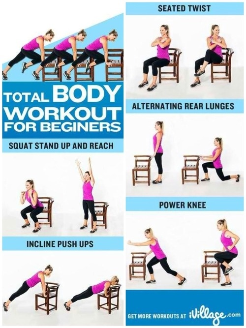 Total body workout for beginers