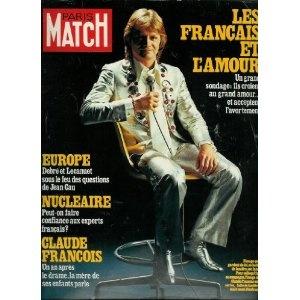 Paris Match - n°1563 - 11/05/1979 - Claude François : Un an après le drame, la mère des ses enfants parle [magazine mis en vente par Presse-Mémoire]
