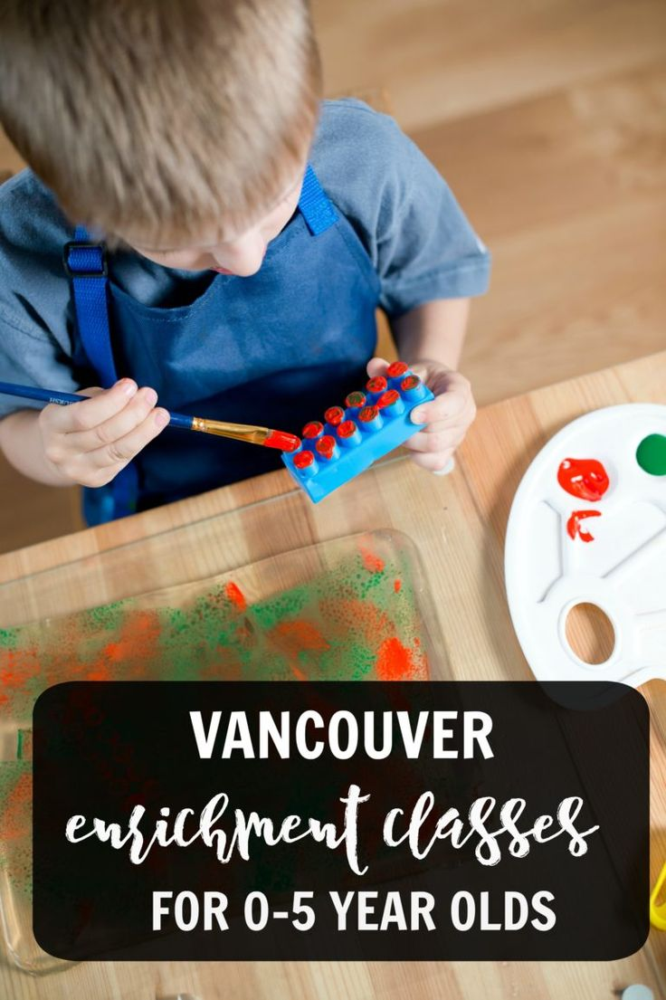 Vancouver enrichment classes - local ideas for kids and toddlers in terms of dance, music, activities, arts and more.