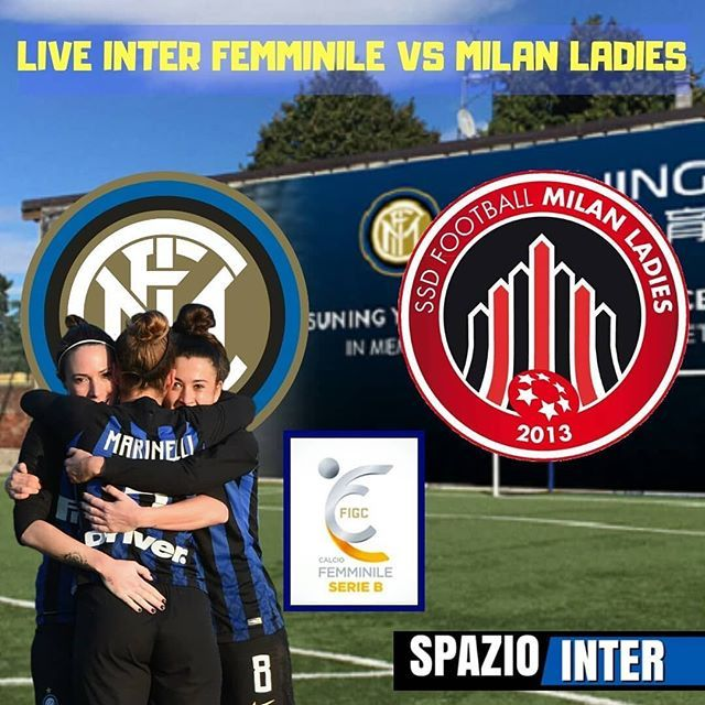 Pic By Spaziointer It Live Serie B Women Day 7 Inter Femminile Milan Ladies Forza Ragazze Baseball Cards Club Baseball