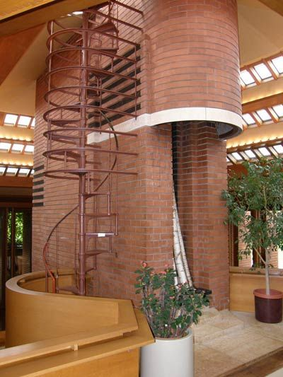 Wingspread, Frank Lloyd Wright, 1937 | ... Райт (Frank Lloyd Wright): Wingspread (Herbert F. Johnson House