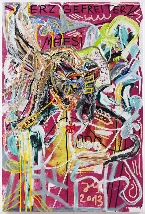 Jonathan Meese, unknown on ArtStack #jonathan-meese #art