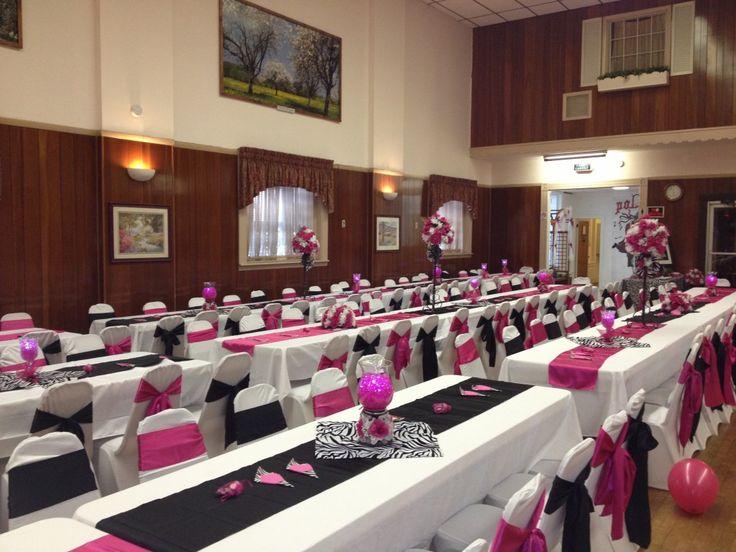 Quinceanera zebra amp hot pink decoration ideas seshalyn s diy - Quinceanera Zebra Amp Hot Pink Decoration Ideas Seshalyn S