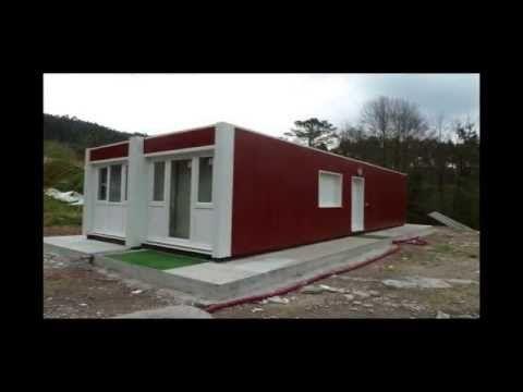 Transporte, instalación y montaje de una casa contenedor