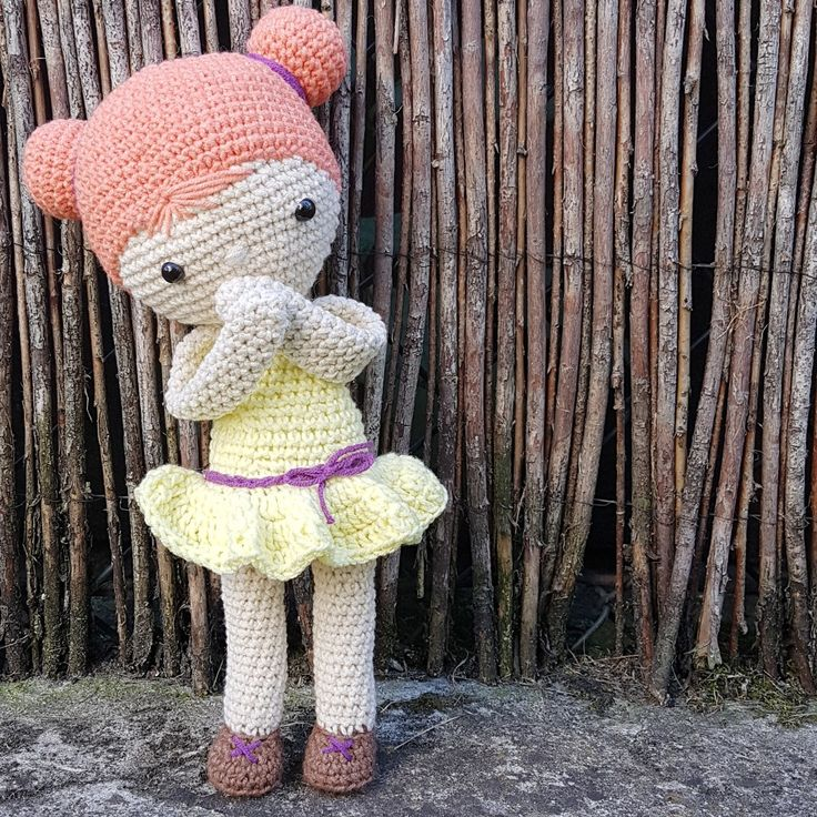 Crochet doll ~ muneca Chloe