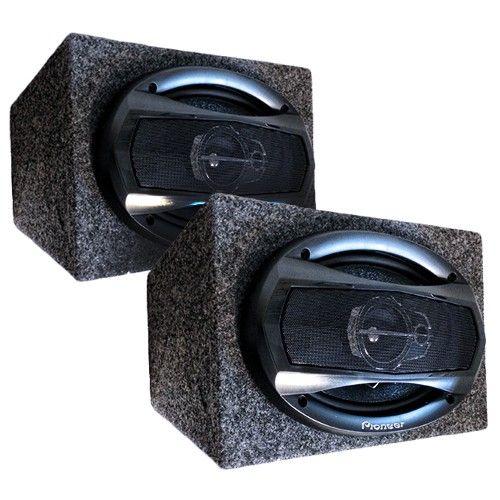 speakers in box. pioneer speakers in box. box d