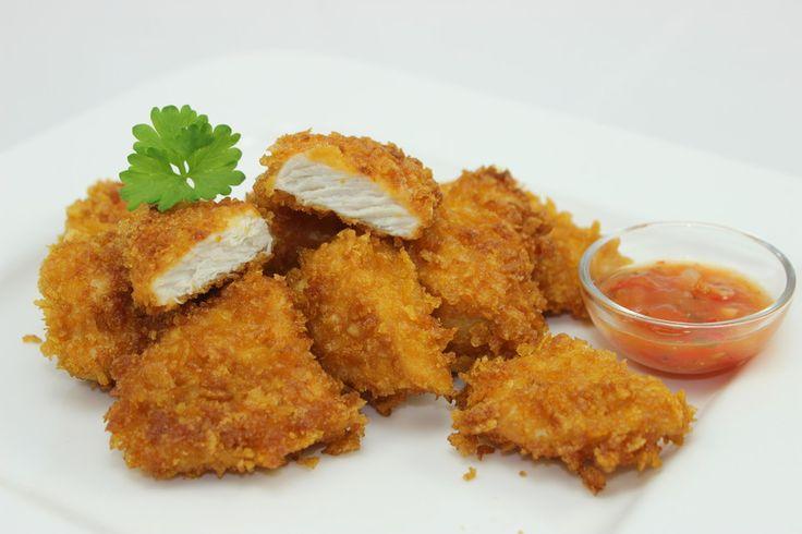 Knusprige Chicken Nuggets selber machen, ein schmackhaftes Rezept aus der Kategorie Braten. Bewertungen: 18. Durchschnitt: Ø 4,5.
