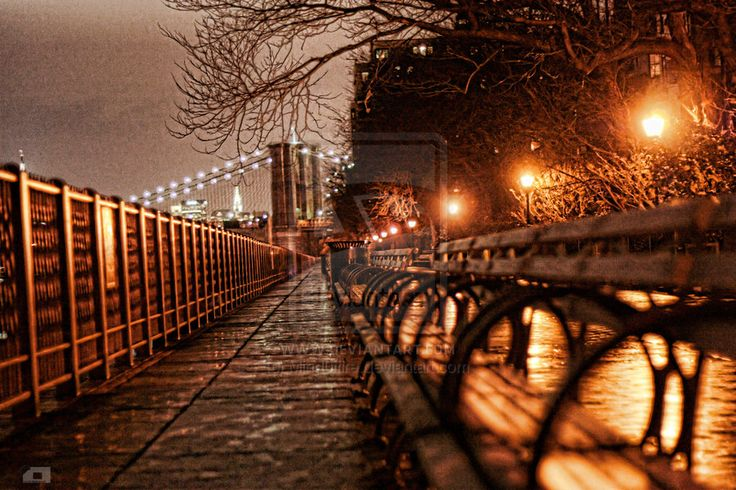 Brooklyn Hts Promenade  Where I fell in love with NY