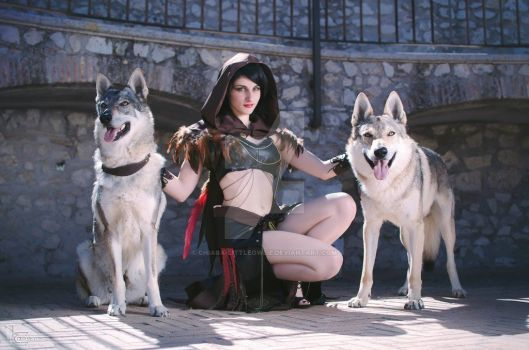 original cosplay. wolves. animal. love. by Littleowlie cosplay