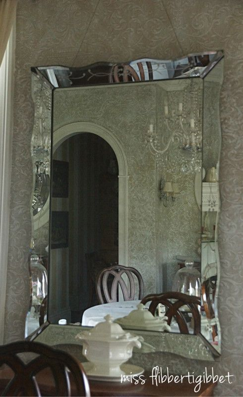 How to hang a heavy antique mirror how to pinterest for How hang heavy mirror