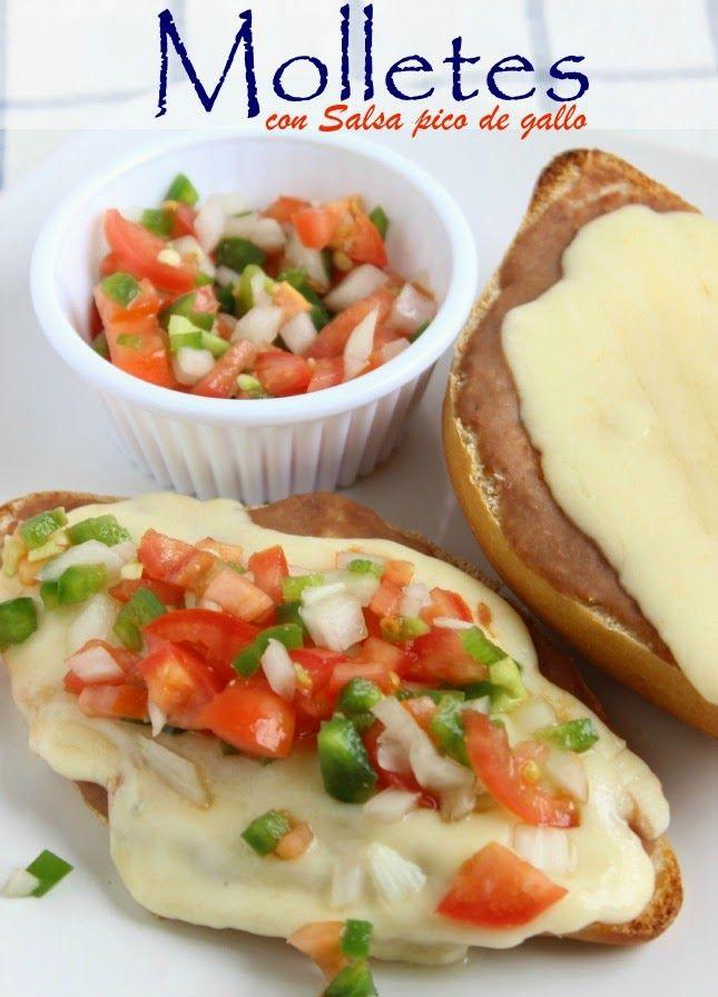 Molletes: un desayuno fácil y delicioso #molletes #Mexicana