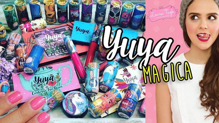 YUYA lanzó sus esmaltes y maquillaje y ya los tengo Todos!! - YouTube