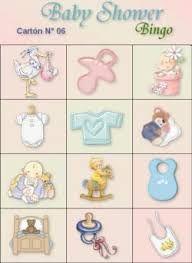 Resultado de imagen para loteria para baby shower para imprimir gratis