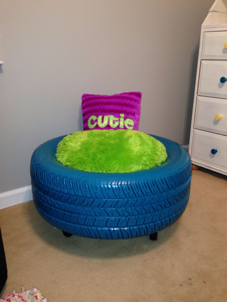 Tire Seat With Wheels For Anna Grace My Projects